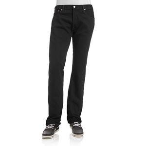 Levi's 501 Black Cotton Jeans 36 X 32